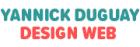 Site web de Yannick Duguay / Design web